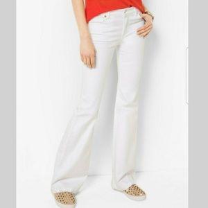 Michael Kors White Flare Jeans NWOT 4